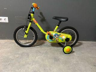Bicicleta niño 3-6 años