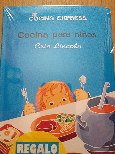 "A ESTRENAR LIBRO ""COCINA PARA NIÑOS"""