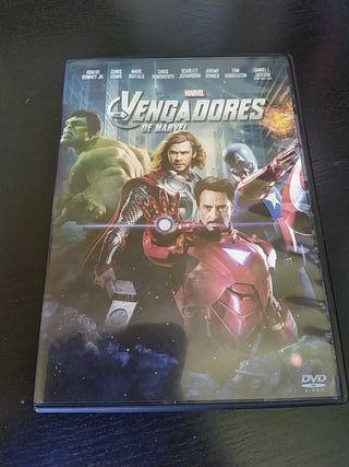 DVD - Los Vengadores