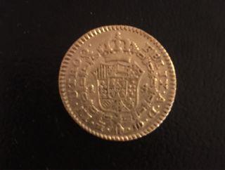 Carlos III moneda de Oro de 1784 Madrid
