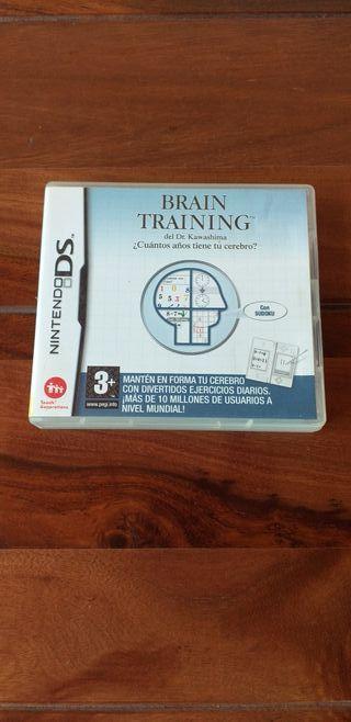 Juego Brain Training Nintendo Ds