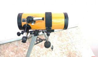 Telescopio vintage alstar reflector con tubo corto