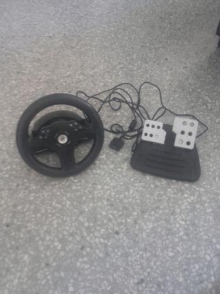 volante y pedales play 2
