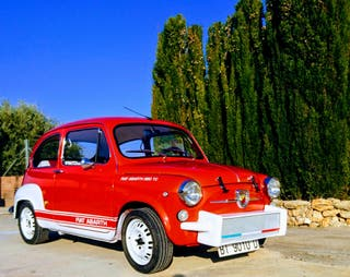 Seat 600 replica abarth 850 tc
