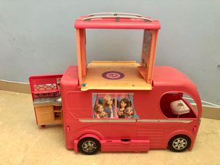 Autocaravana grande juguete barbie