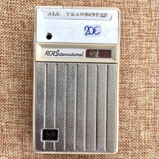 Antiguo transistor radio RCA AA150 - Funciona