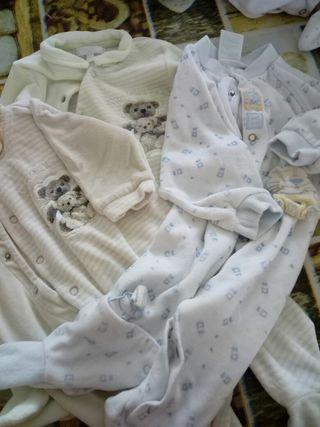 Lote de 3 pijamas unisex