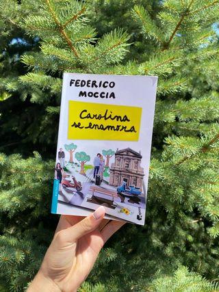 LIBRO CAROLINA SE ENAMORA Federico Moccia