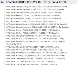 Kit de Distrubución Opel Astra G H y J K015603XS