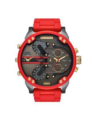 reloj Diesel, rojo, a estrenar