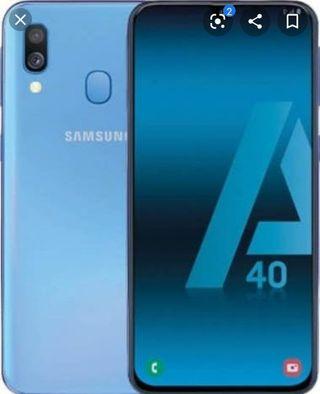 Samsung A40 ( 64Gb ) ( NEGOCIABLE )( MEJOR VER )
