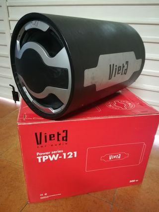 Subwoofer VIETA tpw-121 de tubo