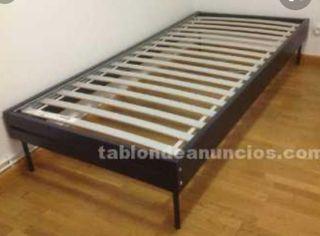 cama individual somier y colchón