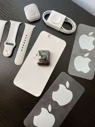 Apple Watch serie 5 acero cellular + apple care