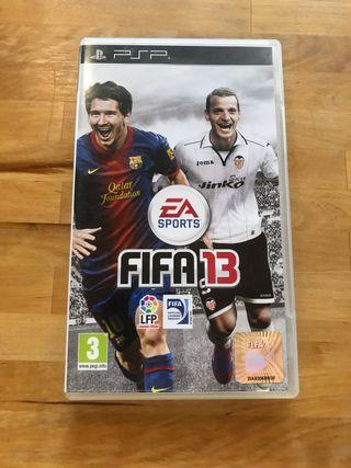 Videojuego FIFA 2013.