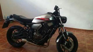 Yamaha xsr 700 2019 limitada A2