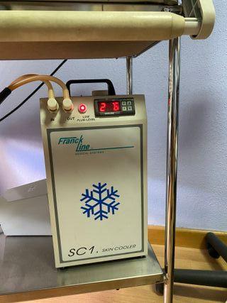 Laser de Diodos y enfriador