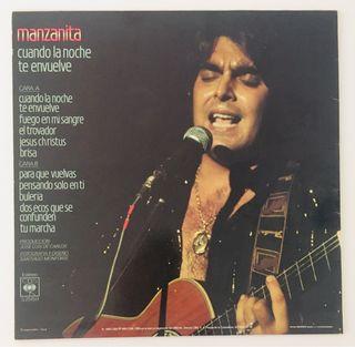 MANZANITA Disco Vinilo LP