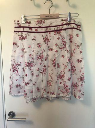 Falda fresquita de flores talla 42