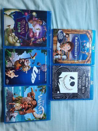 Peliculas Animación Blu-Ray