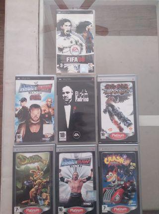 Juegos para la consola PSP