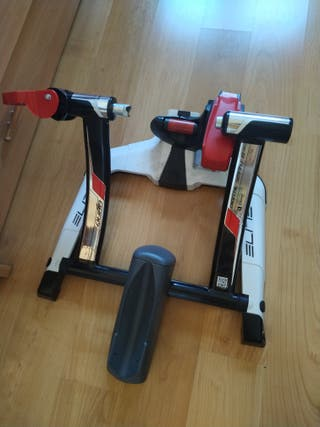 rodillo elite digital smart B+ y rueda