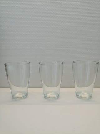 set 5 verres ikea