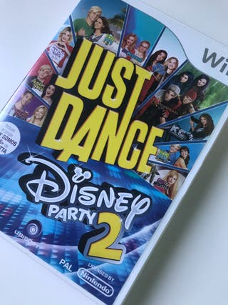 Judit dance Disney party wii