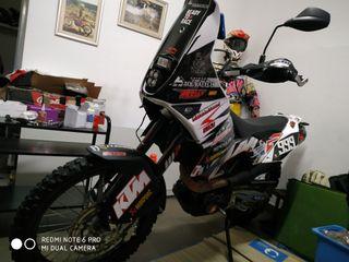 ktm 690 enduro inyeccion kit rally