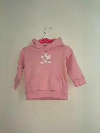 Chándal bebé rosa Adidas