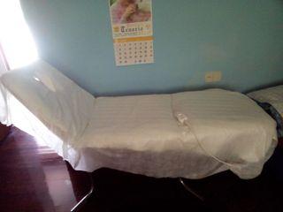 Camilla de masajes + manta eléctrica/precio negoci