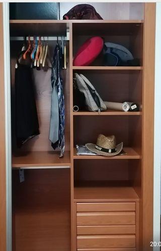 Interior armario empotrado para vestir armario