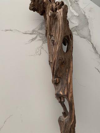 Decoracion pared madera