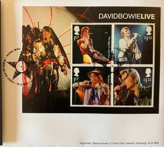 Sellos Oficiales EDITION COLLECTOR de David Bowie