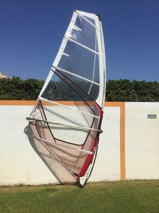 Aparejo windsurf 5 metros.