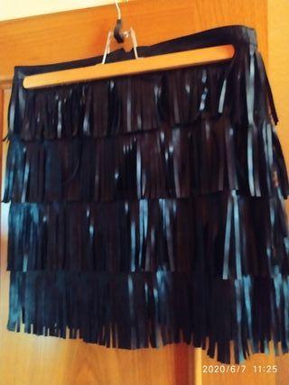 falda flecos