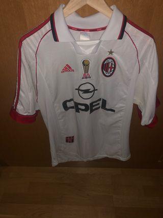 Camiseta AC Milan Adidas Centenario 1998-1999
