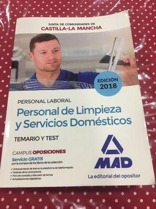 Libro personal de limpieza
