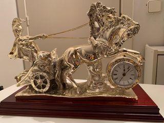 Caballo reloj de alpaca
