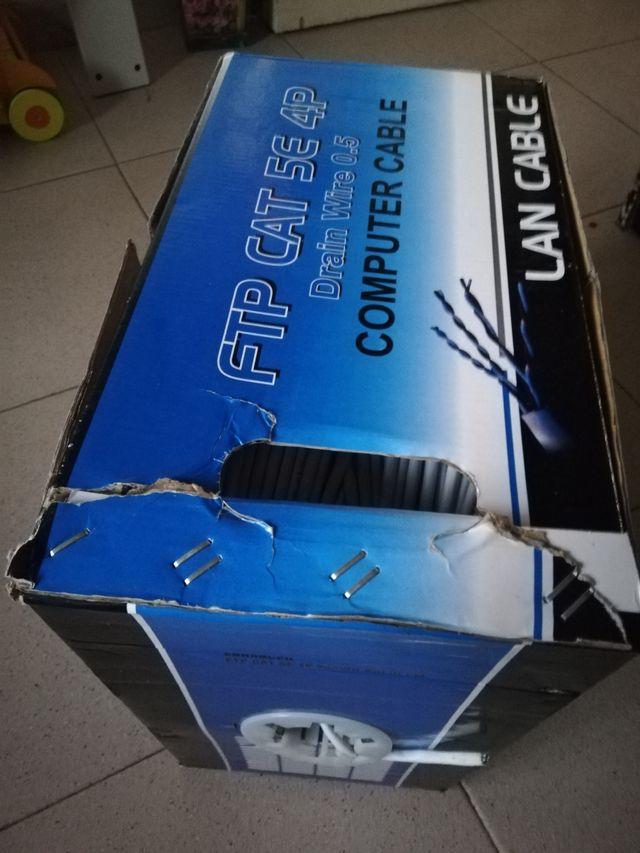 cable ftp Categoría 5e, cable de red