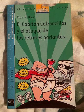 El capitán Calzoncillos