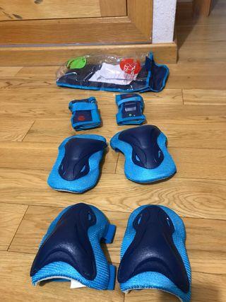 Set protección para patinar