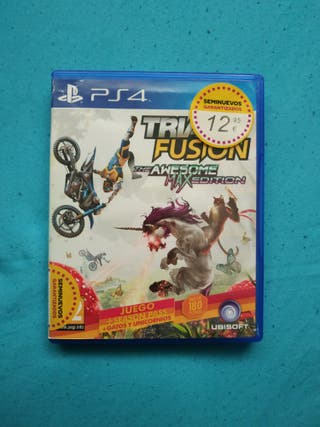 Trials Fusion: The awesome edition Ps4