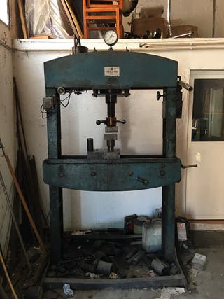 Torno fresadora taladro prensa