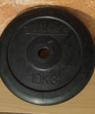 Disco Domyos de goma 10kg