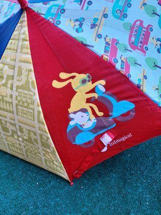 Paraguas infantil Imaginarium