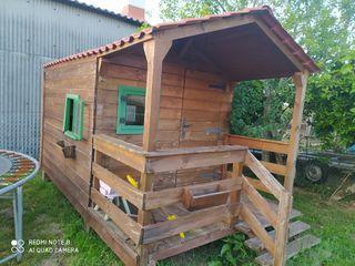 casita para jardín