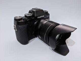 Cámara Fujifilm XT1 + Fujinon XF 18-55