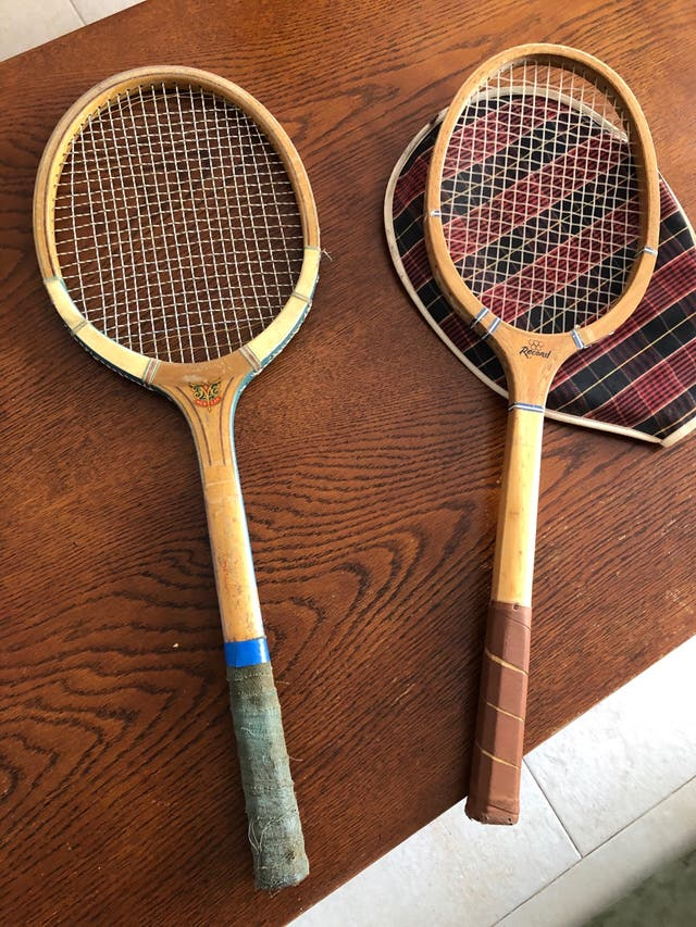 Raquetas antiguas