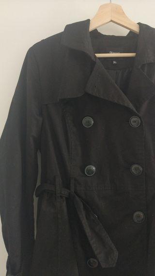 Gabardina Negra XL